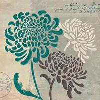 Chrysanthemums I Fine Art Print