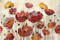 Poppies in the Rain by Silvia Vassileva - various sizes - $75.99