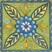 Tuscan Sun Tile III Color by Anne Tavoletti - various sizes