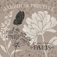 French Linen Garden III by Daphne Brissonnet - various sizes