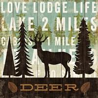 Simple Living Deer by Michael Mullan - various sizes