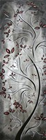"Winter Blossoms by Megan Duncanson - 6"" x 17"""