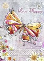 Live Happy by Megan Duncanson - various sizes