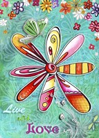 Live And Love by Megan Duncanson - various sizes