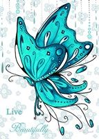 Live Beautifully Fine Art Print