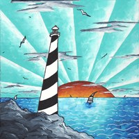 Light House Fine Art Print