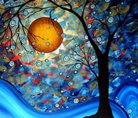 Blue Essence by Megan Duncanson - various sizes