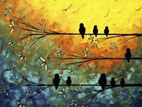 Birds Of A Feather by Megan Duncanson - various sizes
