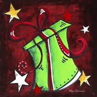 Green Present by Megan Duncanson - various sizes