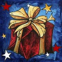 Red Present by Megan Duncanson - various sizes