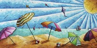 Beach Life I by Megan Duncanson - various sizes