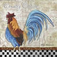 Country Cuisine Framed Print