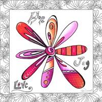 Hope Joy Love by Megan Duncanson - various sizes