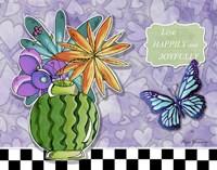 Flower Pot 9 by Megan Duncanson - various sizes