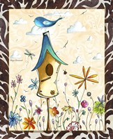 Bird House 1 by Megan Duncanson - various sizes