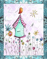 Bird House 2 by Megan Duncanson - various sizes