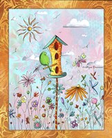 Bird House 3 by Megan Duncanson - various sizes