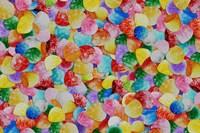 Gummie Drops Collage 1 Framed Print
