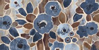 Contemporary Tapestry Blue by Silvia Vassileva - various sizes - $71.99