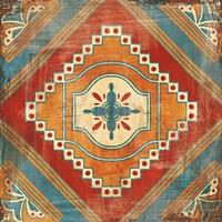 Moroccan Tiles V v2 Fine Art Print