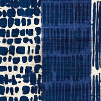 Indigo Batik I by Wild Apple Portfolio - various sizes