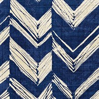 Indigo Batik II by Wild Apple Portfolio - various sizes