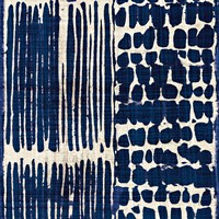 Indigo Batik III by Wild Apple Portfolio - various sizes