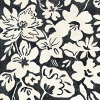 Chalkboard Floral II by Silvia Vassileva - various sizes