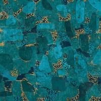 Gilded Stone Turquoise by Wild Apple Portfolio - various sizes, FulcrumGallery.com brand