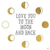 To the Moon by Moira Hershey - various sizes