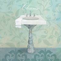 Damask Bath Sink by Avery Tillmon - various sizes