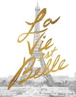 Gilded Paris Fine Art Print