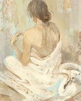 Abstract Figure Study II Fine Art Print
