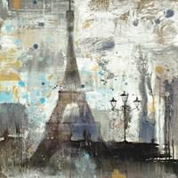 Eiffel Tower Neutral Fine Art Print