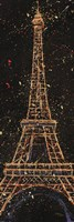 "12"" x 36"" Eiffel Tower Art"