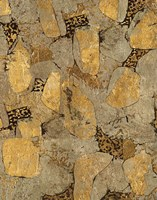 Gilded Stone Gold II Framed Print