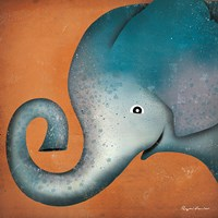 Elephant WOW Fine Art Print