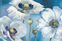 """Blue Dance I by Lisa Audit - 36"""" x 24"""""""