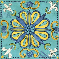 Tuscan Sun Tile IV Color Fine Art Print