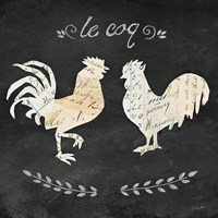 Le Coq Cameo Sq Fine Art Print