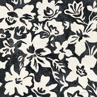 Chalkboard Floral I Fine Art Print
