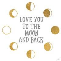 To the Moon Fine Art Print