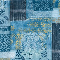 Alhambra III Indigo Fine Art Print