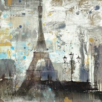 Eiffel Tower Neutral Fine Art Print
