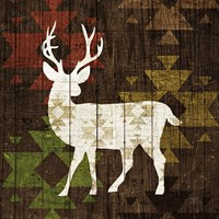Southwest Lodge - Deer I Fine Art Print