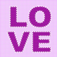 Love Stitch by Andrea Haase - various sizes - $24.49