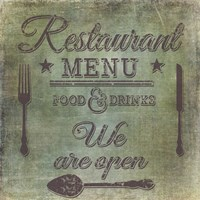 Restaurant by Andrea Haase - various sizes - $30.49