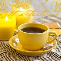 Yellow Teatime by Andrea Haase - various sizes, FulcrumGallery.com brand