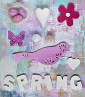 Spring Collage Fine Art Print