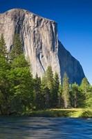El Capitan and Merced River Yosemite NP, CA Fine Art Print